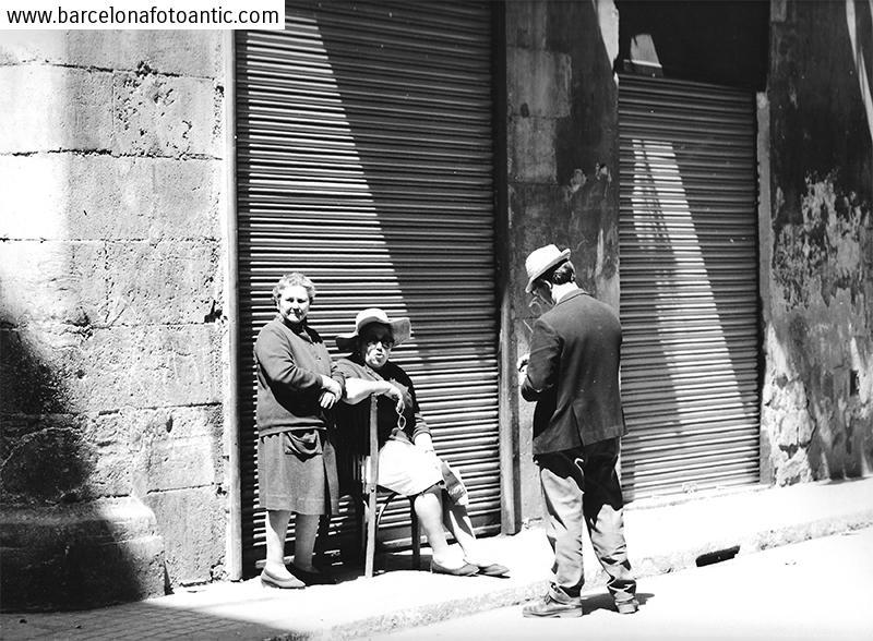 Ciutadans del Raval. Barcelona, 1969