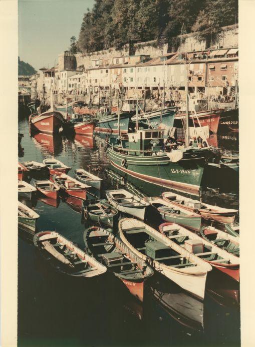 Port of Donostia-San Sebastián in 1965