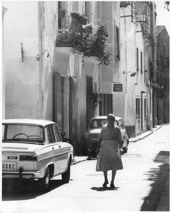 Un carrer a Blanes