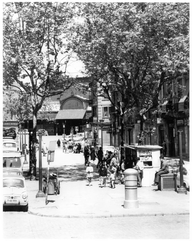 Passeig del Born a Sunday in May 1969
