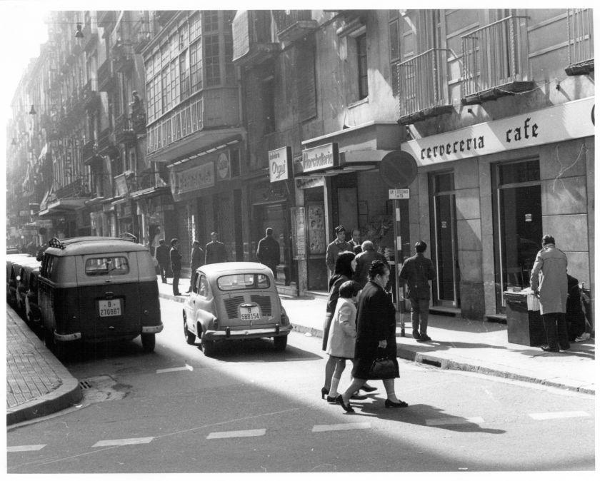 El carrer Conde del Asalto en el 1969