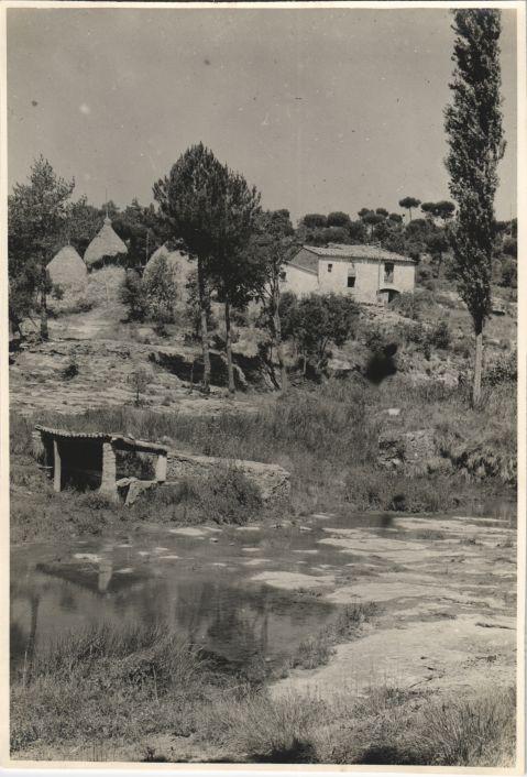 A farmhouse in Castellterçol