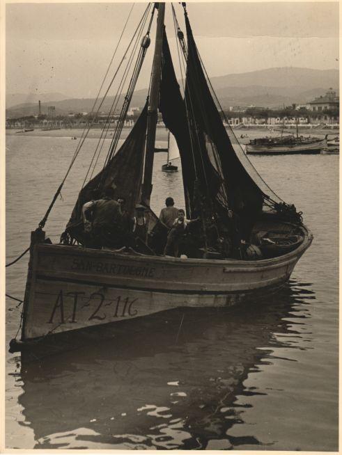 Pescadors al port de Santander