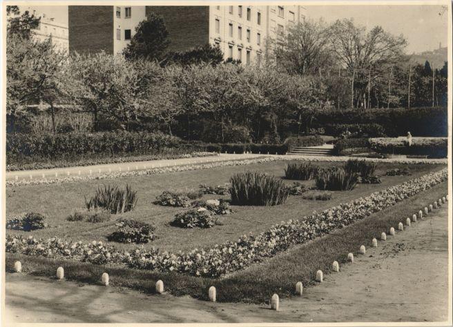 Els jardins en flor de Turò Park