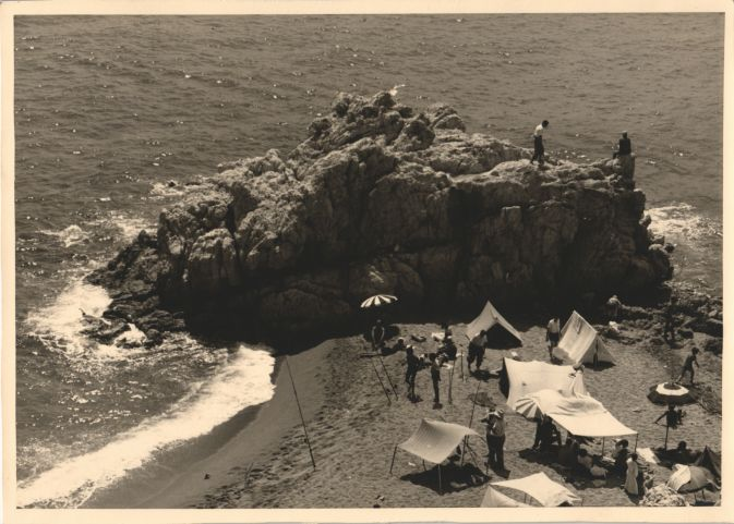 Summer 1952 in Sant Pol de Mar