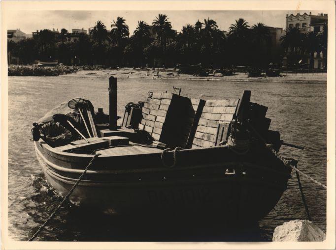 Barca de Pesca en Sitges