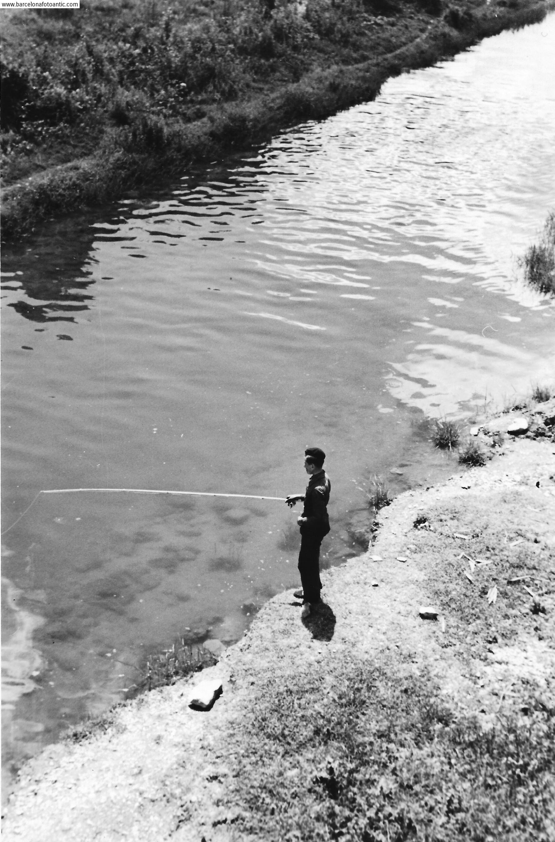 Pescando, 1940