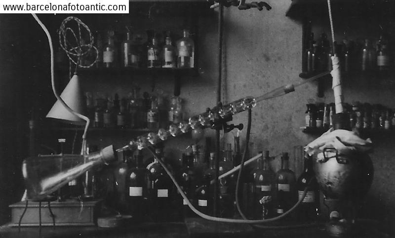 Laboratorio de la Universidad de Barcelona. 1937