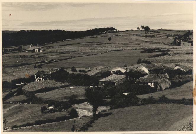 Panoramic view of Altamira in 1950