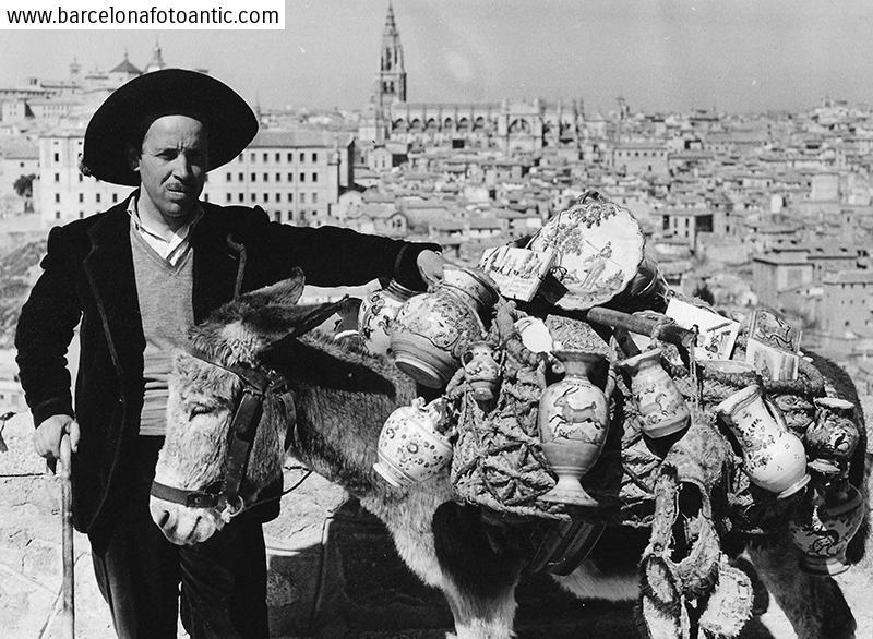 Venedor de ceràmica de Toledo. 1955