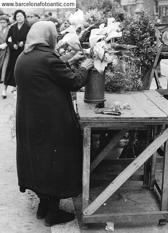 Florist of La Rambla