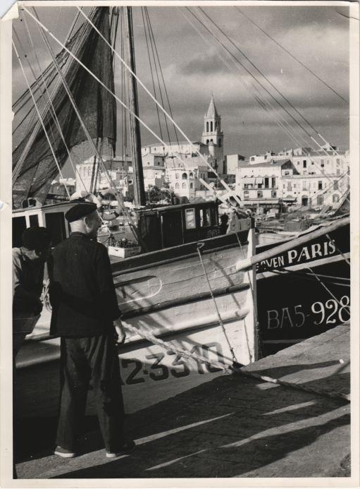 Palamós en 1957