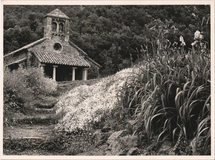 La ermita de Sant Bernat. El Montseny