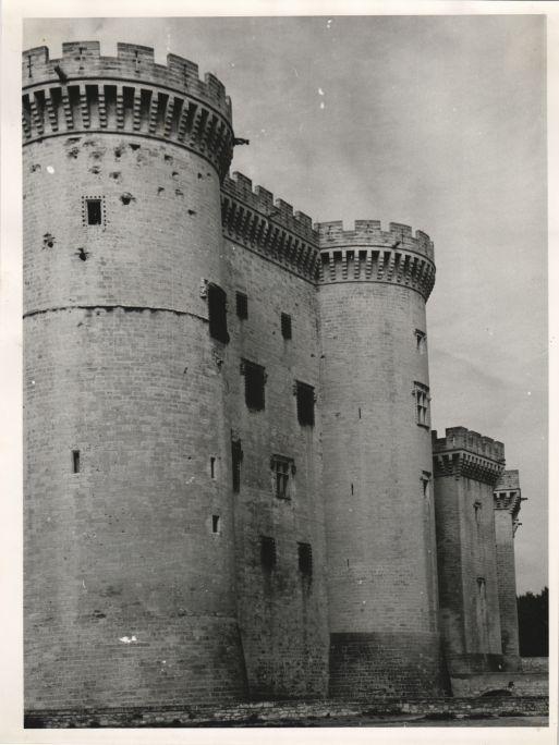 Castell de Tarascón a Bouches-du-Rhône
