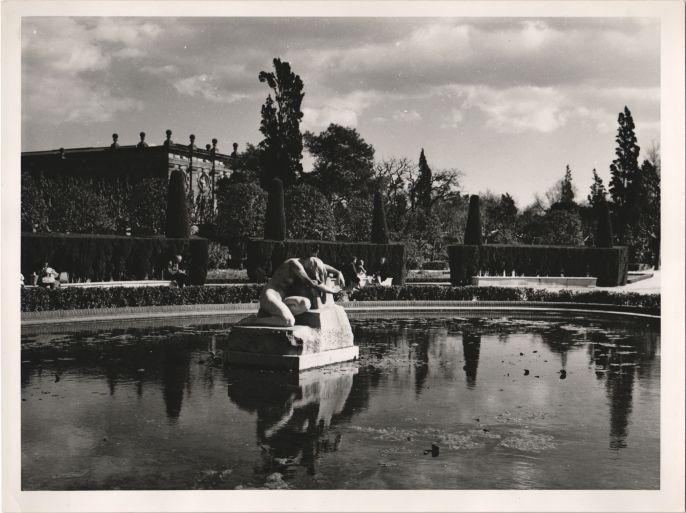 The Dismay. Ciutadella Park of Barcelona