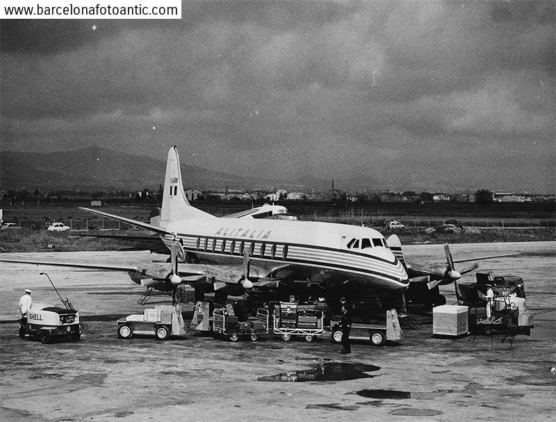 Barcelona  Airport in 1960