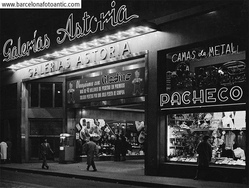 Former Astoria shopping  passage