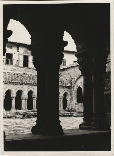 Cloister of the  Church of Santillana del Mar