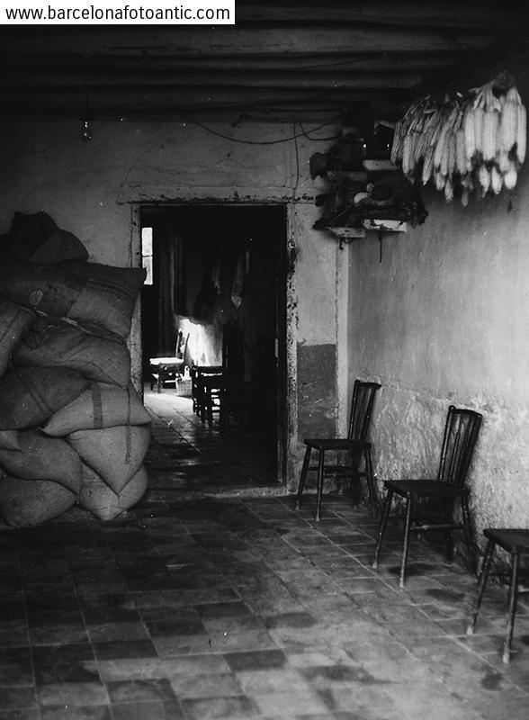 Inside a farmhouse of Sant Celoni