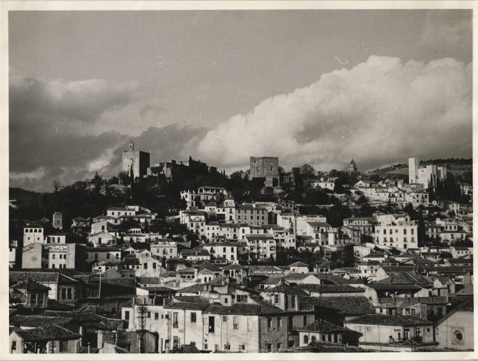 View of Granada in 1959