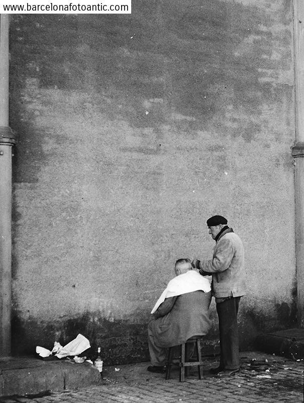 The street barber