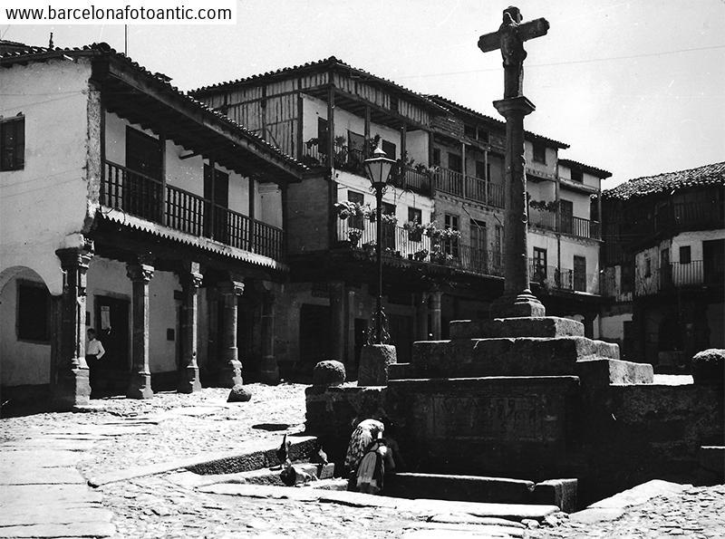 Plaça Major de La Alberca