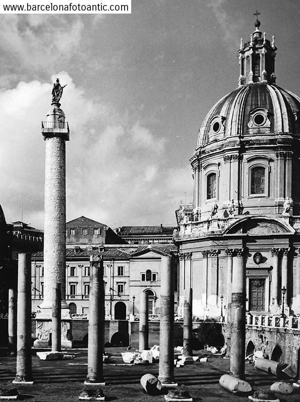 Fòrum Romà. Roma, Italia 1961