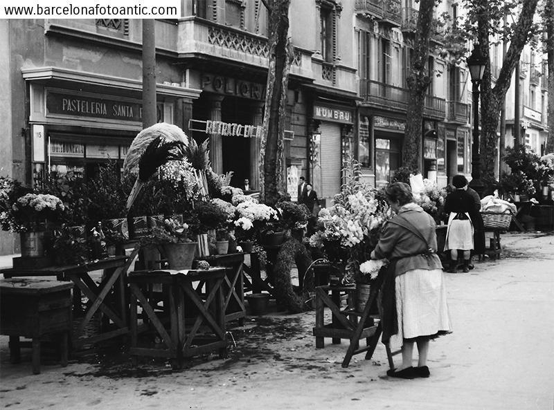 Les floristes de La Rambla