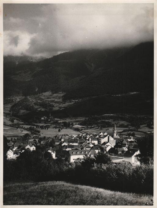 Viella. Valle de Arán, 1961