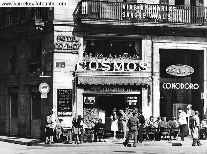 Cosmos café of Barcelona