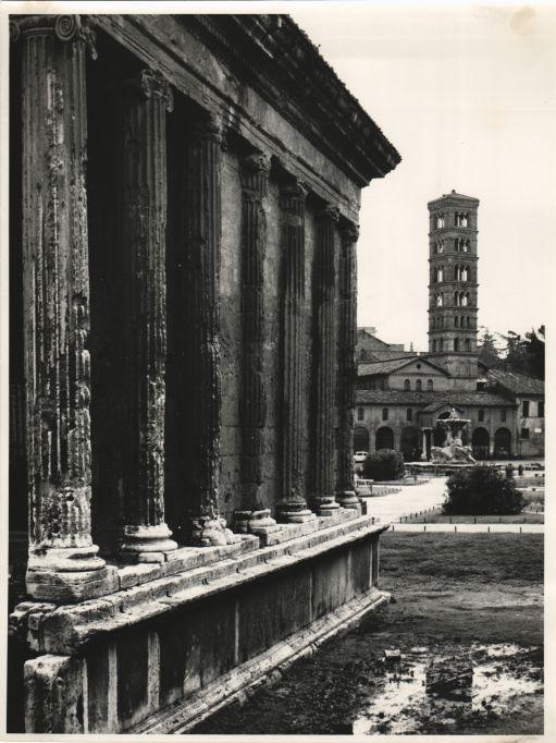 Templo de Portuno s.II a.c., en Roma