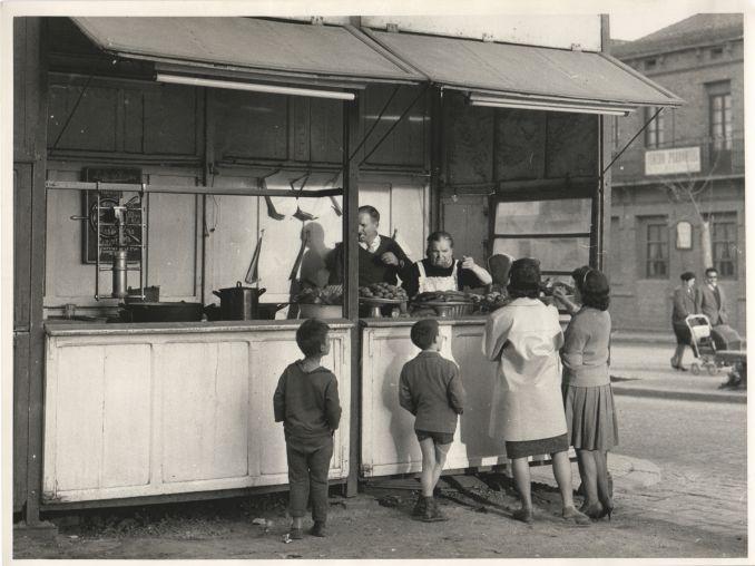 La xurreria del barri, Barcelona 1962