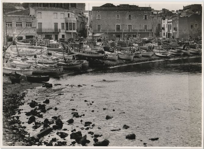 Port de L'Escala -Costa Brava en 1951