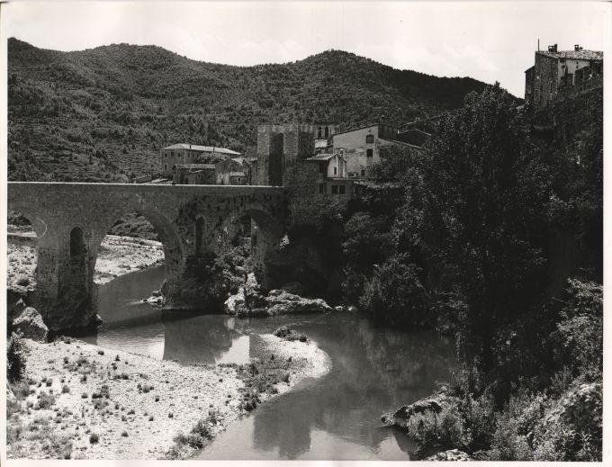 Panoramic view of Besalú